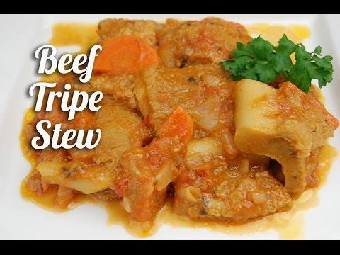 Beef tripe recipe