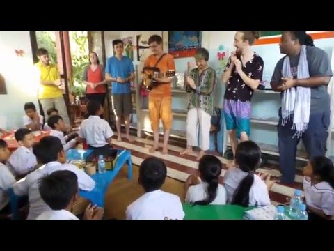 Khmer Sing-Along in Cambodia