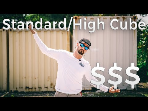 40ft. High Cube vs. Standard Shipping Container | Benefits & Cost $$$
