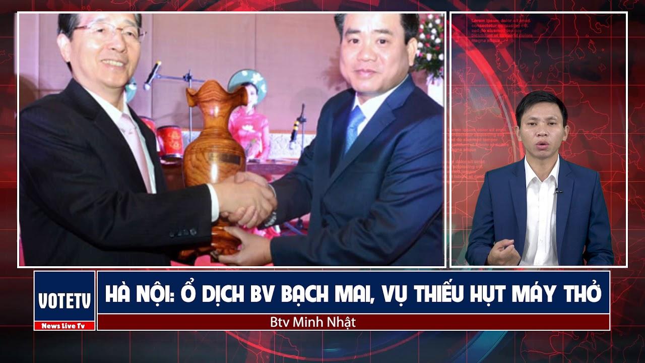 Ổ dịch bv Bạch Mai lan tới đâu, Hà Nội chỉ có 260 máy trợ thở, mối lo của ông Chung Con