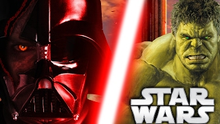 Darth Vader VS The Hulk TEASER TRAILER - Star Wars Theory Animation