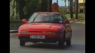 Mazda 323 Familia Fastback road test from 1990