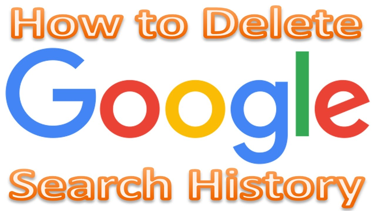 How To Delete Google Search History  Clear Google Search In Seconds