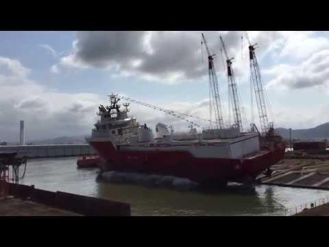 Lançamento Stim Star Brasil - NAVSHIP /  HALLIBURTON