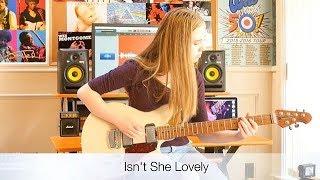 Ayla Tesler| Guitar Cover of 'Isn't She Lovely' Song