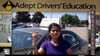 Driving Test Success Story in Mississauga