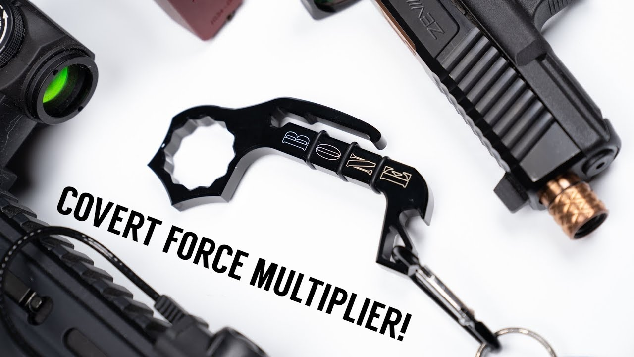 Best Clandestine EDC Force Multiplier Ever? Bone Opener Aluminum