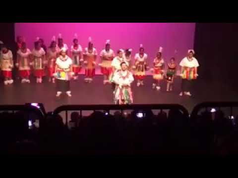 Our senior students performing for Pacific dance event
