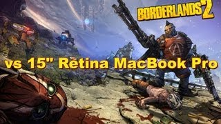 Borderlands 2 | Mac OS X Gameplay Introduction & Performance Review