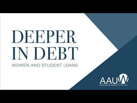 Deeper in Debt: Women and Student Loans Introduction