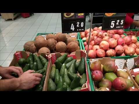 Цены на продукты в Грузии 2019. Магазин Carrefour.