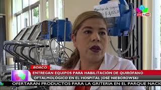 Entregan equipos para habilitación de quirófano oftalmológico en Hospital José Nieborowski en Boaco