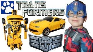 РАСПАКОВКА машинки-трансформера на радиоуправлении | Unboxing Toy Transformer