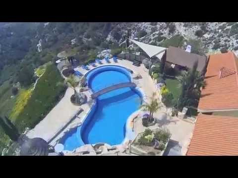 Aerial Video of 2 Luxury Holiday Villas in Paphos, Cyprus