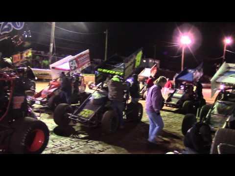Susquehanna Speedway Super Sportsman Highlights 4-02-16