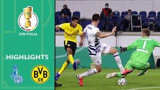 MSV Duisburg - Borussia Dortmund 0:5 | Highlights | DFB-Pokal 2020/21 | 1. Runde