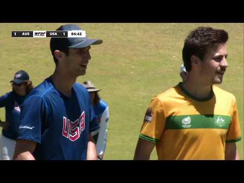 WFDF World Under 24 Ultimate Championship: SEMI FINAL: USA vs Australia - Men's