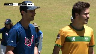 WFDF World Under 24 Ultimate Championship: SEMI FINAL: USA vs Australia - Men's