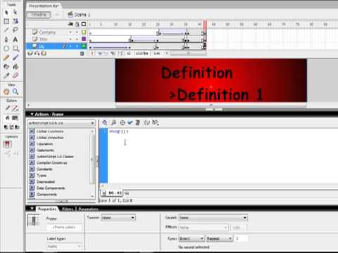 macromedia flash as presentation software - youtube, Powerpoint templates