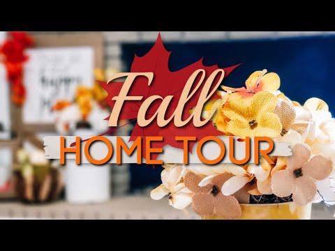 FALL HOME TOUR 2019 | FARMHOUSE FALL DECOR TOUR