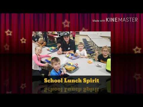 Horace Elementary School Lunch Spirit