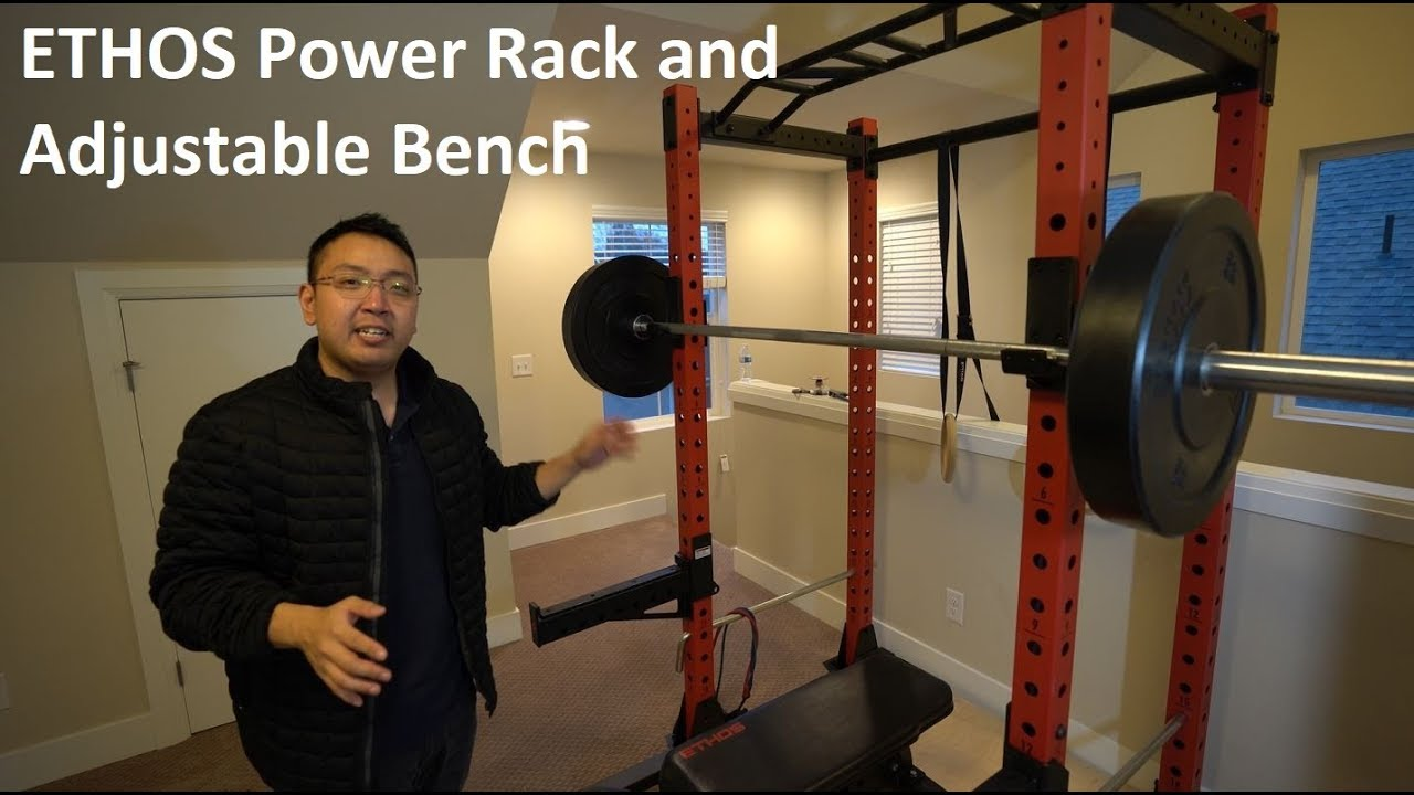 Ethos Power Rack And Bench Good Enough For Home Youtube