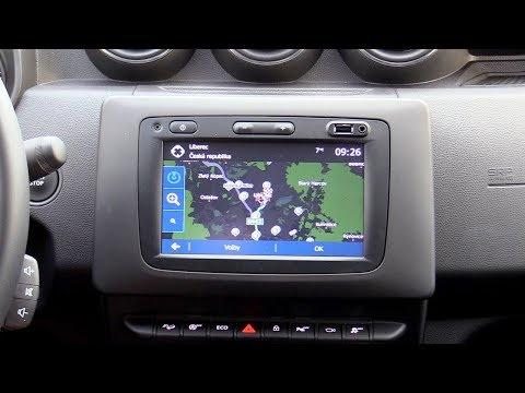 New Dacia Duster 2018 | Media Nav Evolution 3.0 (Navigation, Radio, Camera system)