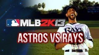 MLB 2K13 - Gameplay - Astros vs Rays