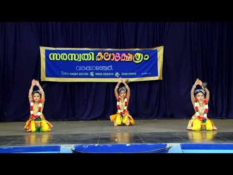 Kaliyamardhanam by  SARASWATHY KALAKSHETHRA at Guruvayoor Melpathur April 2016