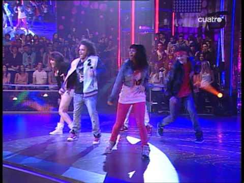Fama a bailar de noche! Grupo IDANCE: Erik Vicky Nito Raquel y Alex