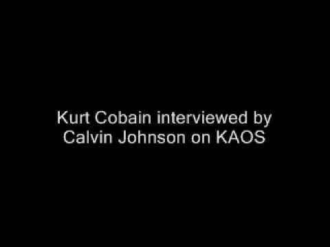 Kurt Cobain Interviewed by Calvin Johnson on KAOS