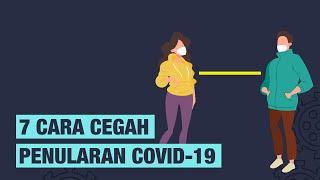 [INFOGRAFIS] 7 Cara Cegah Penularan Virus Corona Covid-19