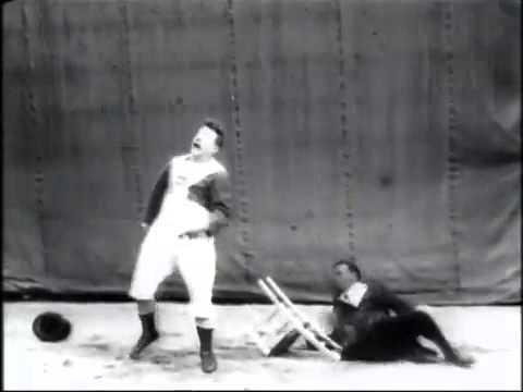 Lumière Cinématographe 'Chaise en bascule' (1899)