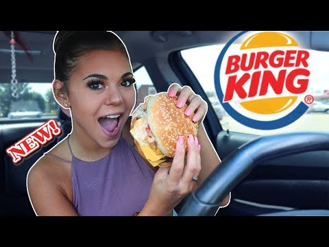 TRYING BURGER KINGS NEW AMERICAN BREWHOUSE KING!