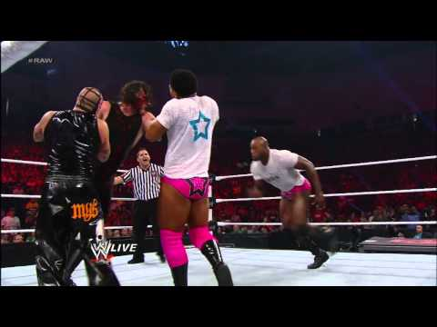 Rey Mysterio & Sin Cara vs. Team Hell No: Raw, Nov. 19, 2012