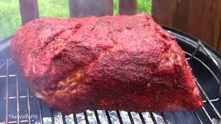 Basic Backyard Pulled Pork! - Smoky and Delicious BBQ! - The Wolfe Pit