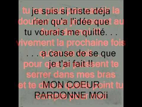 Je Taime Mon Amour Pardonne Moi