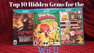 Top Ten Hidden Gems on the Wii U by Second Opinion Games