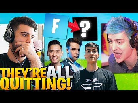Why Pros Are QUITTING Fortnite... Ft. Ninja