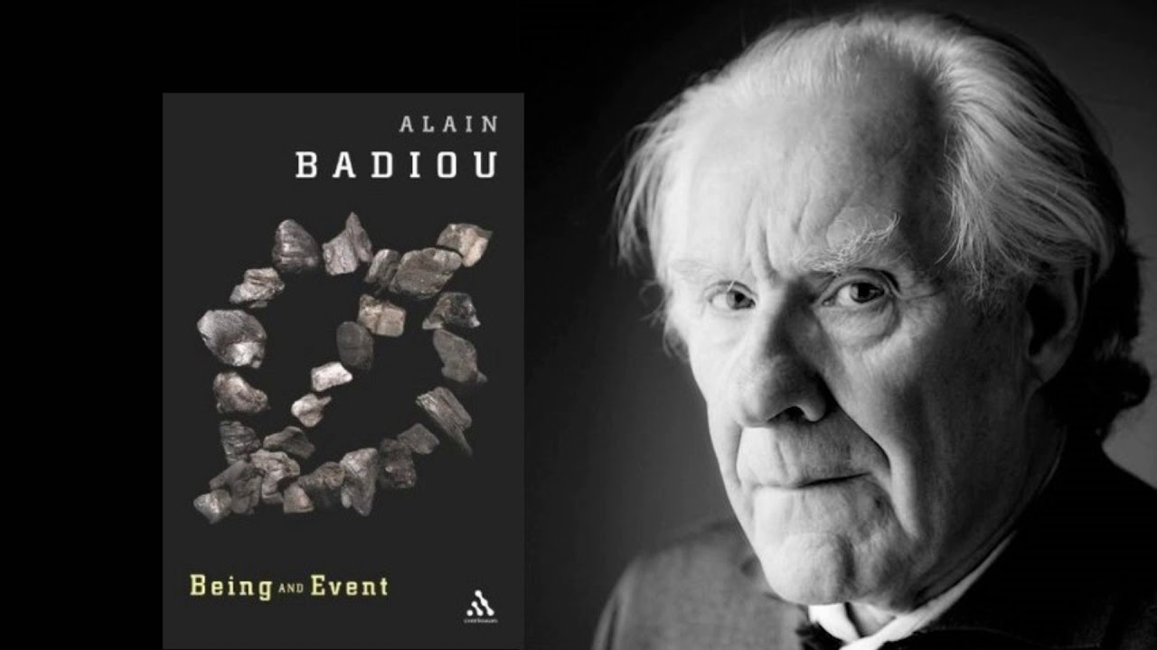 Alain Badiou - Being and Event - YouTube