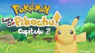 2 jugadores en Pokemon let's go pikachu cap. 2