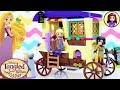 Lego Rapunzel's Traveling Caravan Disney Princess Build Kids Toys