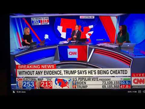 CNN's Dana Bash Says Trump Set Up America With Vote By Mail; Georgia For Biden Made Plan Backfire