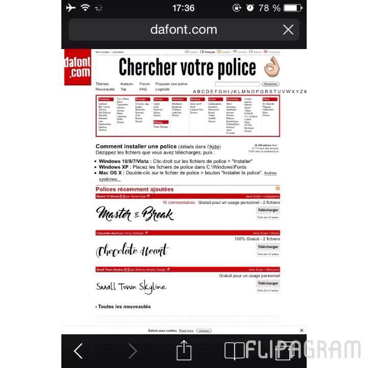 telecharger police mac gratuite