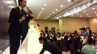 MC Samson 8 Dec 2012 @ 海逸君綽酒店  新人進場