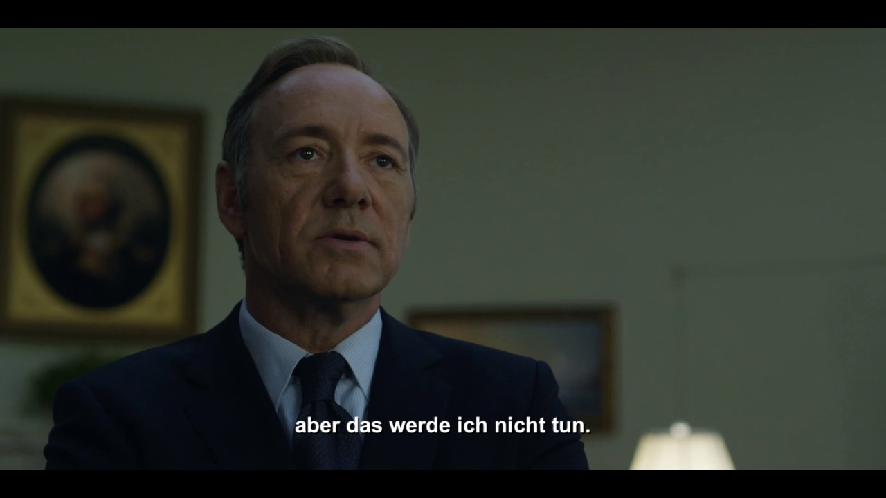 House Of Cards Staffel 1 Trailer