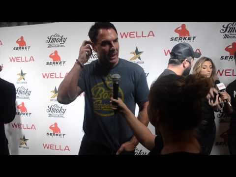 Mark Steines from Hallmark Channel  at Boot Campaign's Comedy Boot Jam