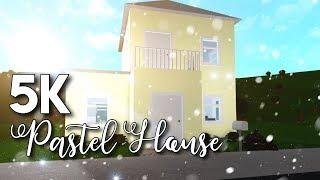 Roblox ? Bloxburg: Casa de presupuesto de 5k Construcción de la casa)Bienvenido a Bloxburg Casa barata Pastel Bloxburg