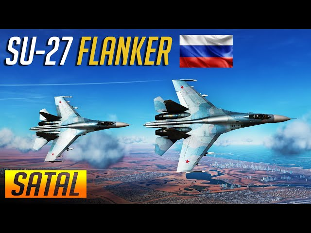 DCS: Su-27 Flanker Air to Air Engagements during SATAL