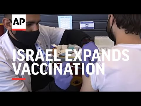Israel Expands Vaccination Drive To People Over 16